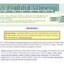 A Faithful Witness